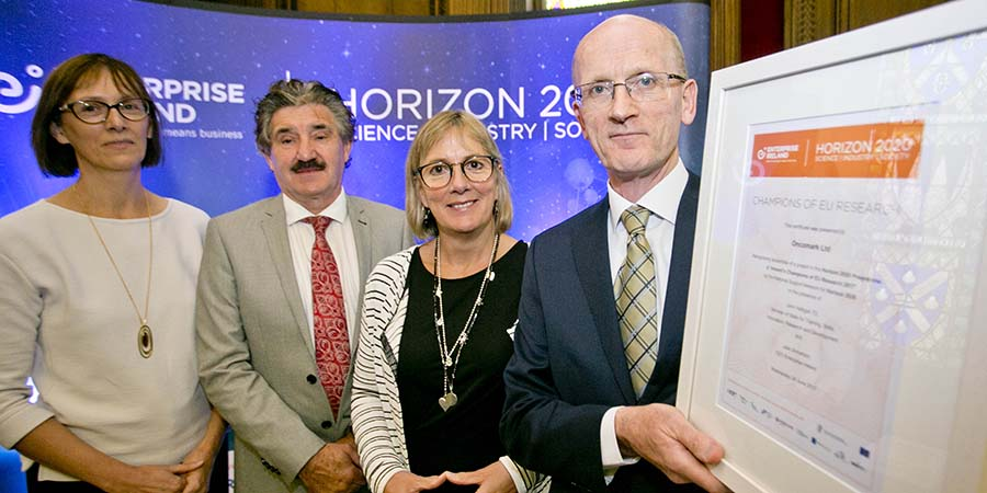 Description for Recognising the achievements of Ireland's Champions of EU Research