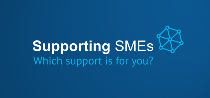 Logo for Supporting SMEs Tool