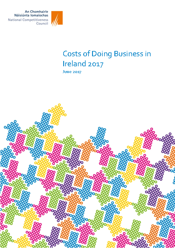 Image depicting item named Costs of Doing Business in Ireland 2017