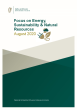 Image depicting item named Focus on Energy, Sustainability and Natural Resources 2020