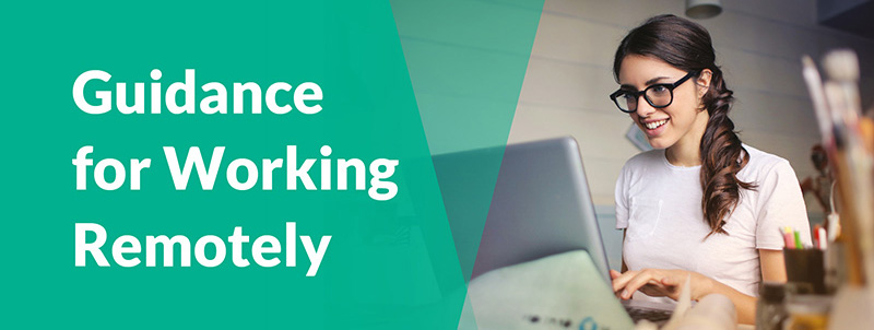 Guidance for working remotely