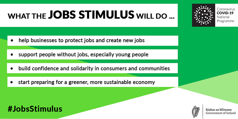 Jobs Stimulus infographic