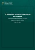 Mid-Term Review of the National Policy Statement on Entrepreneurship